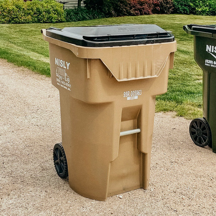 recycling containers for businesses in reno county kansas