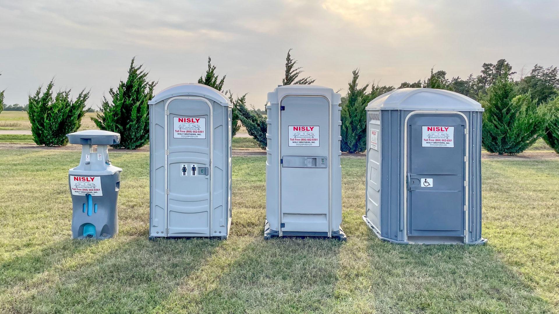 portable toilet rentals in central kansas