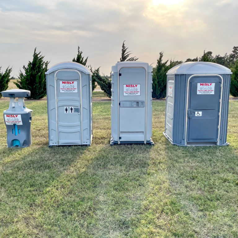 temporary portable toilet rentals available in central kansas