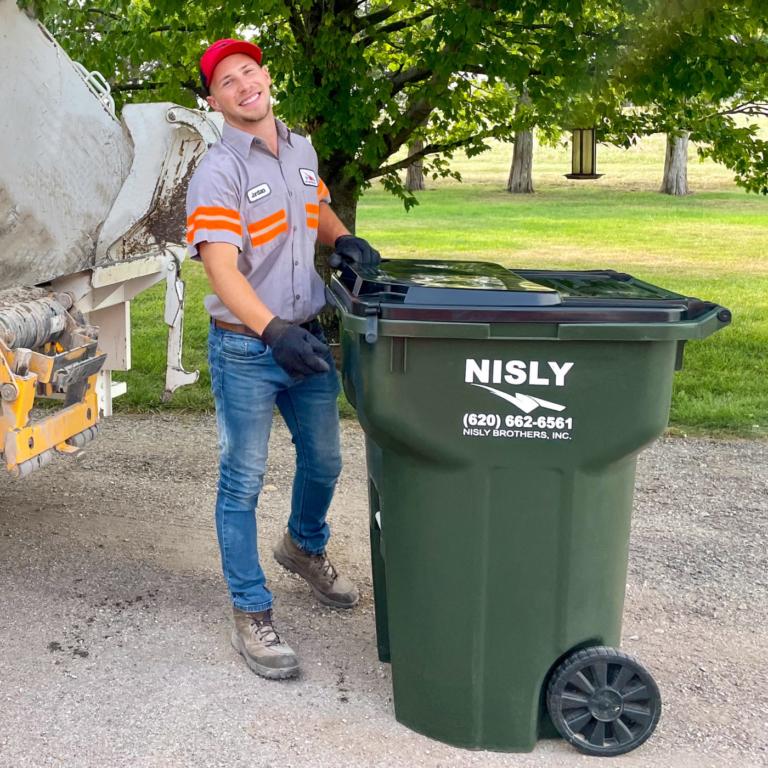 personal trash service near kiowa kansas