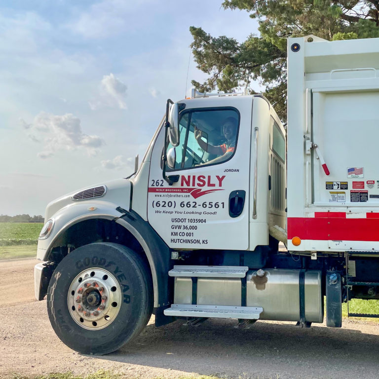 residential trash service in central kansas that is dependable and on time