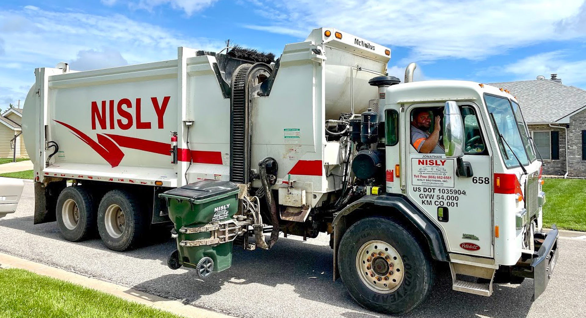 residential trash service most dependable in kansas