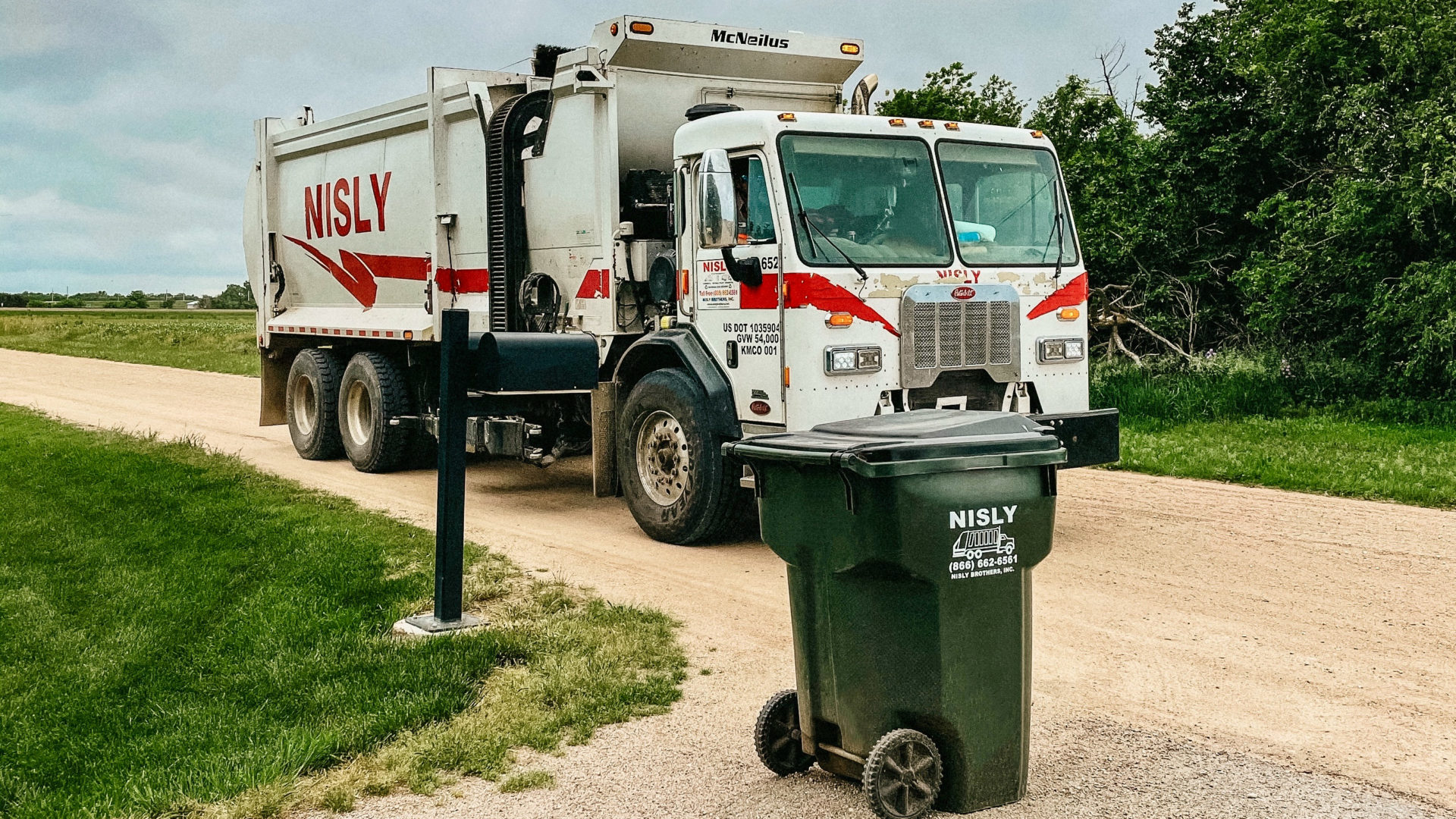 weekly residential waste management in central kansas
