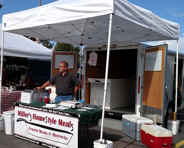 nisly brothers trash service customer of the month millers homestyle meals
