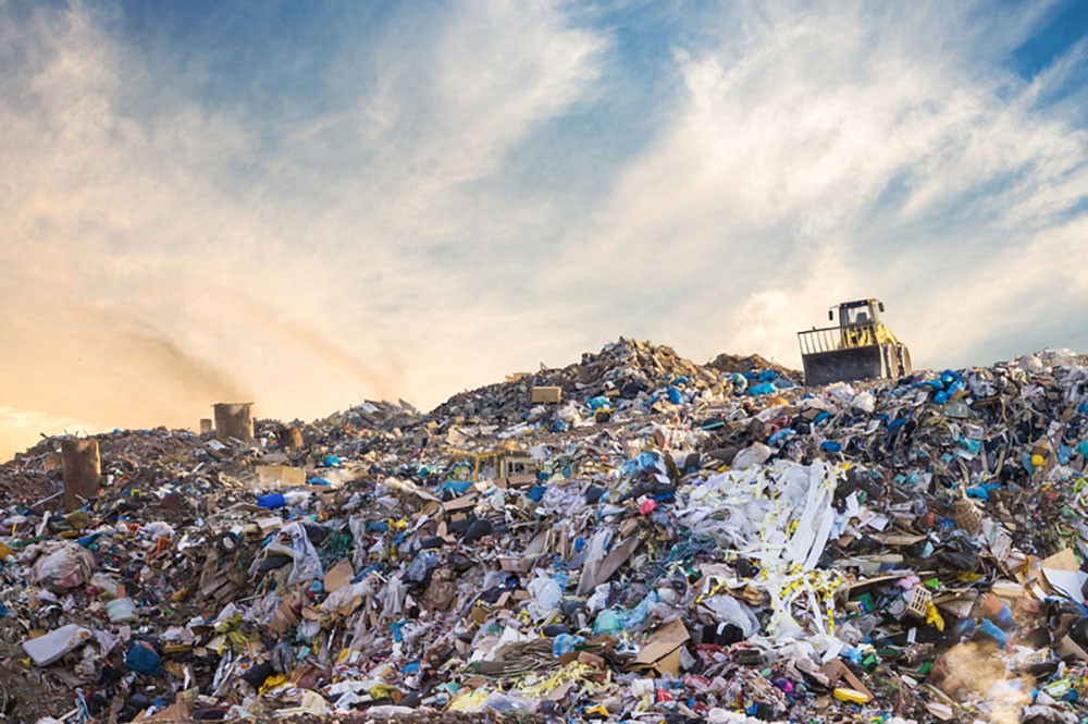 plastic pollution and our landfill problems