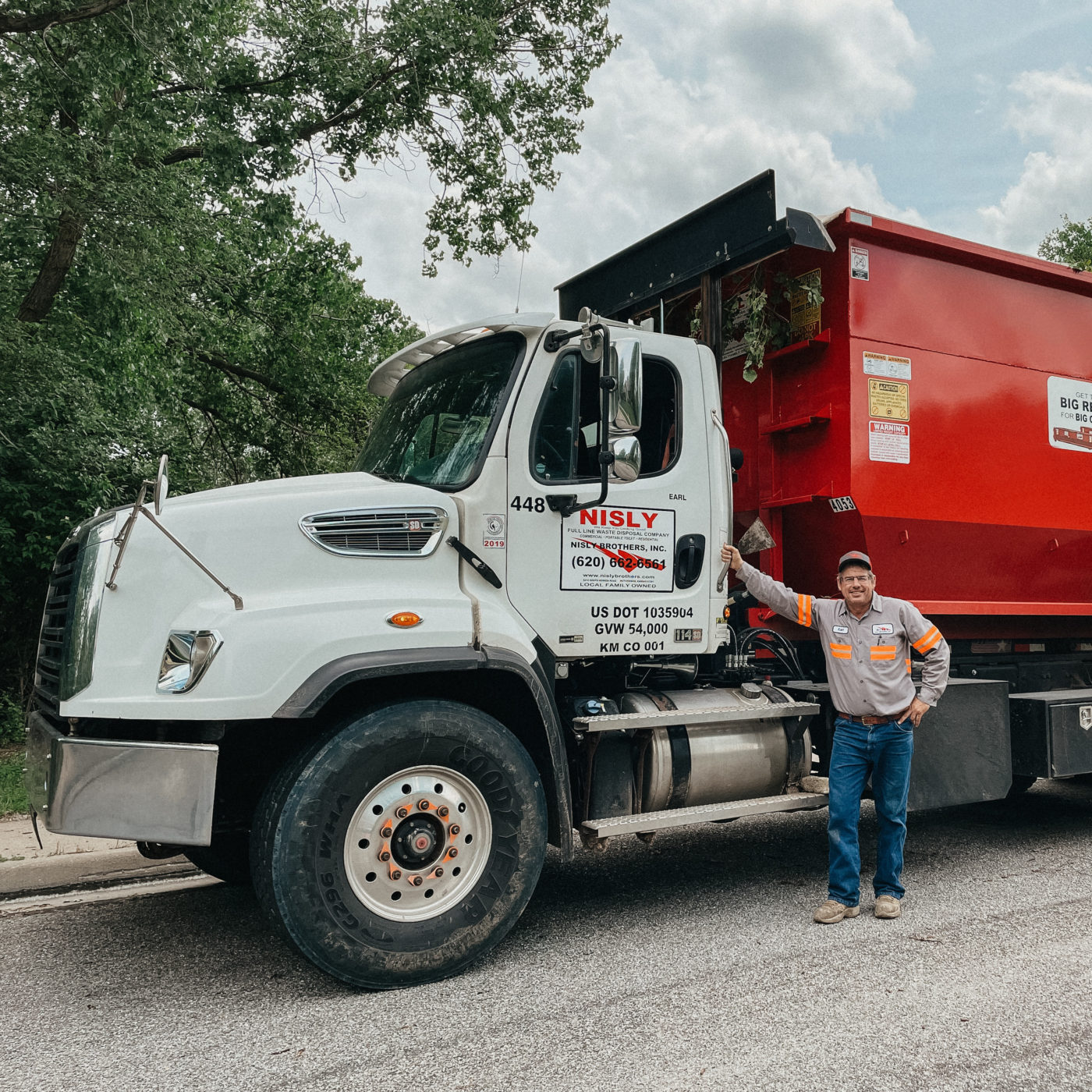 commercial trash service in central kansas