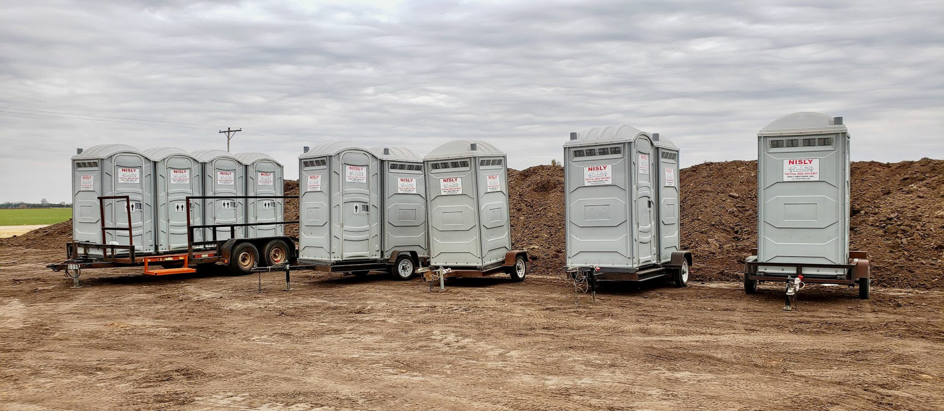 long term commercial toilet rentals in central kansas for construction sites